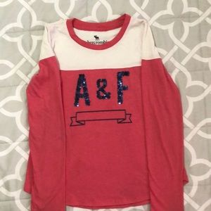Abercrombie Kids long sleeve top girls size 9/10